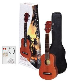Almeria Pure Player Pack Ukulele 502820 - zestaw