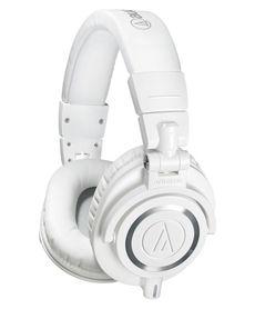 Audio-Technica ATH-M50X-WH - Słuchawki domowo-studyjne