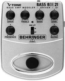 BEHRINGER BDI21 - efekt basowy
