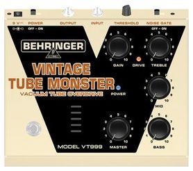 BEHRINGER VINTAGE TUBE MONSTER VT999 - Efekt gitarowy