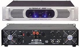 DAP AUDIO Palladium P 2000 - końcówka mocy