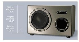Dynaudio AIR BASE-1 - Subwoofer aktywny