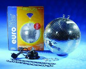 EUROLITE - kula lustrzana 30cm z napędem