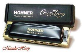 HOHNER HU015F CROSS HARP 565/20 MS F - Harmonijka ustna