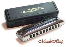 HOHNER HU016A MEISTERKLASSE 580/20 MS A - Harmonijka ustna