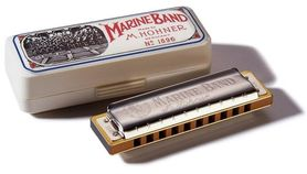 HOHNER HU064CMOLL MARINE BAND 1896/20 C-MOLL - Harmonijka ustna