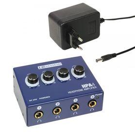 LD SYSTEMS LDHPA4 - wzmacniacz słuchawkowy