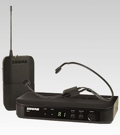 SHURE BLX 14E/P31 System bezprzewodowy z mikrofonem nagłownym PGA31