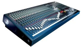 Soundcraft LX 7ii/16 - mikser analogowy