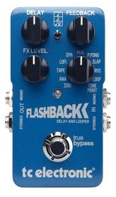 TC ELECTRONIC FLASHBACK DELAY LOOPER - efekt gitarowy