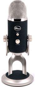 Blue  Yeti PRO mikrofon pojemnościowy USB, wyjście słuchawkowe