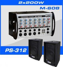 SET-400 2x200Wat/RMS