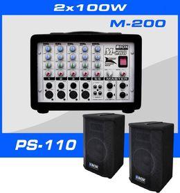 SET-200 2x100Wat/RMS