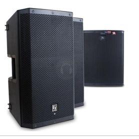 Electro-Voice 2x ZLX 15P ELX 118P całość 2700 Wat