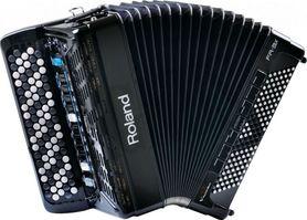 Roland FR 3X B BK - cyfrowy akordeon guzikowy skordeon