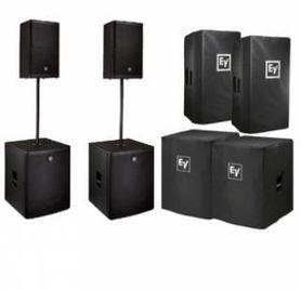 Electro Voice 2x ELX-115P 2x ELX118P zestaw nagłośnieniowy bundle