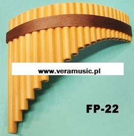 Gibonus FP-22 Fletnia Pana 22-głosowa G-dur, skala e1-e4