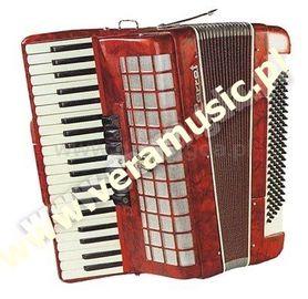 Akordeon 1311A - 120 bas III (czerwony) Parrot