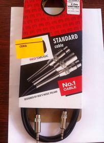 Kabel red's music jack stereo 3,5mm-jack stereo 3,5mm 2,0m