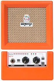 Micro Crush Orange CR3 combo gitarowe jedno-kanałowe 3W tuner gitarowy zasilanie bateryjne