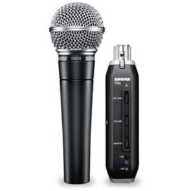 Mikrofon z adapterem sygnału SM58-X2U Shure