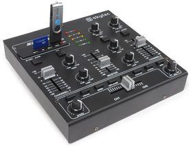 STM-2250 4-kanałowy mikser z MP3/USB/SD oraz cyfrowymi efektami