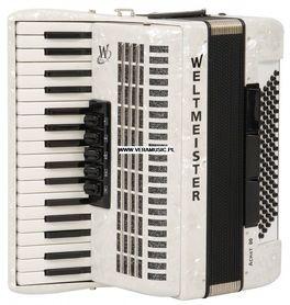 Weltmeister Achat 80 34/80/III/5/3 akordeon (biały perłowy)