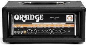 Orange Dual Dark-100 Black