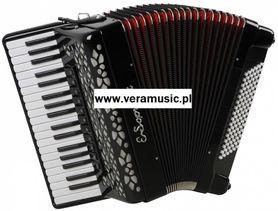 E.Soprani 964 KC 37/4/11 96/4/4 Piccolo akordeon (czarny)