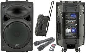 QTX QR15PA PORTABLE PA, mobilny zestaw nagłośnieniowy