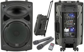 QTX QR12PA PORTABLE PA, mobilny zestaw nagłośnieniowy