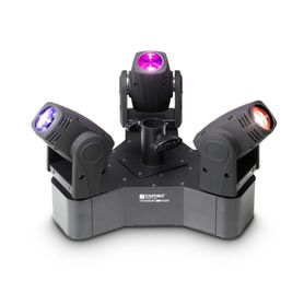 Cameo Light HYDRABEAM 300 RGBW - Lighting set with 3 ultra-fast 10 W CREE RGBW Quad LED Moving Heads, zestaw ruchomych głów