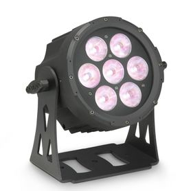 Cameo Light FLAT PRO 7 SPOT - Compact, flat 7 x 15 Watt Quad LED PAR spot, reflektor sceniczny LED