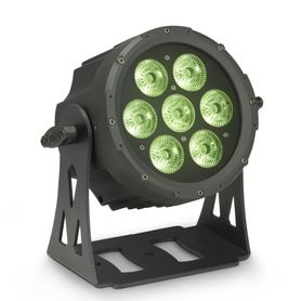 Cameo Light FLAT PRO 7 XS - Compact, flat 7 x 8 Watt Quad LED PAR light, reflektor sceniczny LED