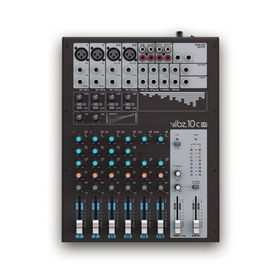 LD Systems VIBZ 10 C - mikser audio, 10 channel Mixing Console with Compressor
