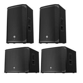 Electro-Voice Zestaw nagłośnieniowy 2 x EKX 12P 2x EKX 18SP