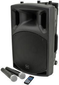 QTX QX12PA portable PA unit with USB/SD/FM player & Bluetooth™, mobilny zestaw nagłośnieniowy