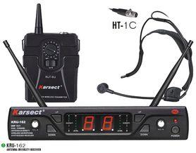 Mikrofonowy system bezprzewodowy KRU-162/KLT-6U/HT-1C