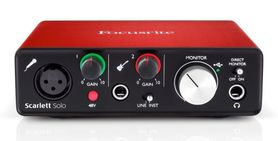 Focusrite Scarlett Solo Gen2 interfejs audio USB
