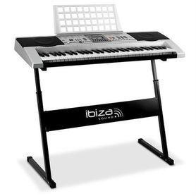 Keyboard ze statywem i torbą MEK-6128P Ibiza