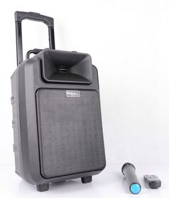 Mobilny zestaw nagłośnieniowy Ibiza POWER8LED-MKII