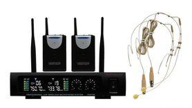 Zestaw mikrofonów nagłownych Voice Kraft VK 670B