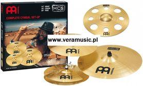 Meinl New Player Set 14HH,16CR,20R +16 TRC komplet talerzy perkusyjnych