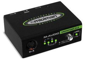 M-AUDIO MIDISPORT 2x2 - interfejs MIDI