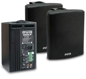 APART AUDIO SDQ5PIR-BL Aktywny zestaw głośnikowy