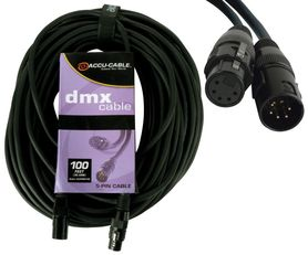 Accu Cable kabel DMX 5pin 1,5m