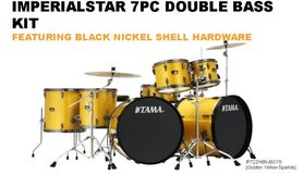 TAMA IMPERIALSTAR 7PC DOUBLE BASS  KIT
