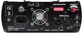 Laser tunelowy czerwono-niebieski LS-RB11 Gobo DMX