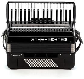 Weltmeister Achat 34/72/III/5/3- akordeon