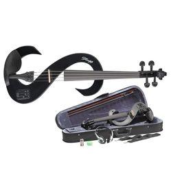 Stagg EVN 4/4 BK - skrzypce elektryczne 4/4